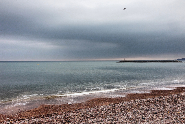 Sidmouth-beach