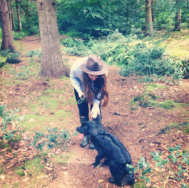 Cider-with-Rosie-in-the-woods