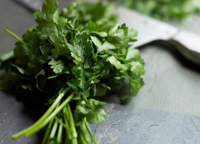 Chopped-parsley