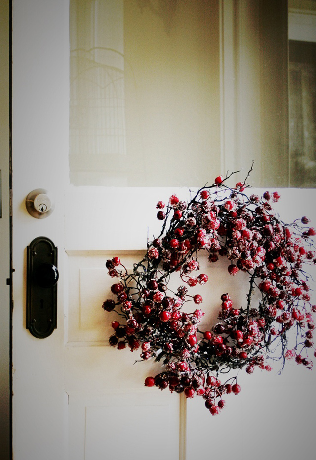 Red-berry-wreath