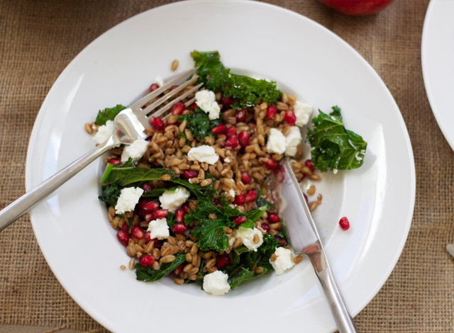Eating-Seasonally-Pomegranate-farro-and-goats-cheese-salad-5