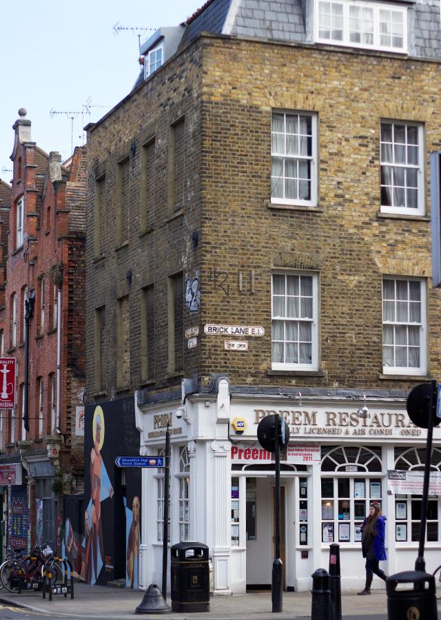 Brick Lane: Brick Lane + London Fields.