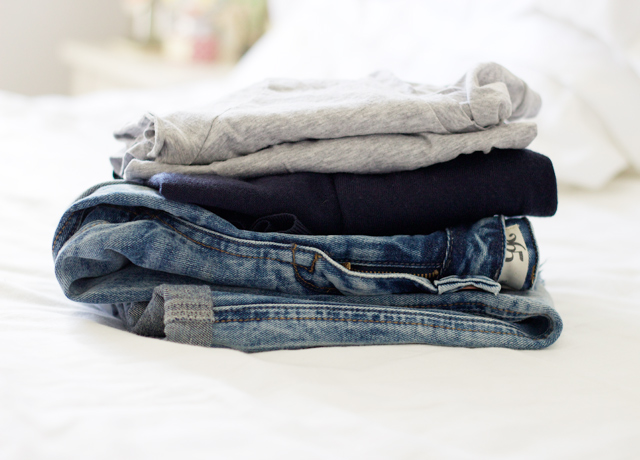 Stack-of-clothes