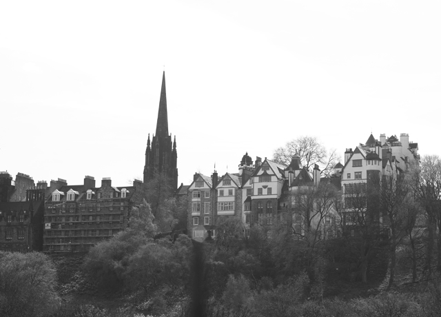 Edinburg-skyine