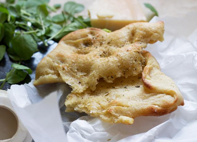 Garlic-rubbed-olive-oil-oregano-flatbread