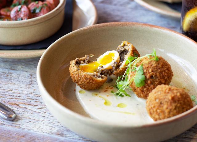 Haggis-and-quail-Scotch-eggs