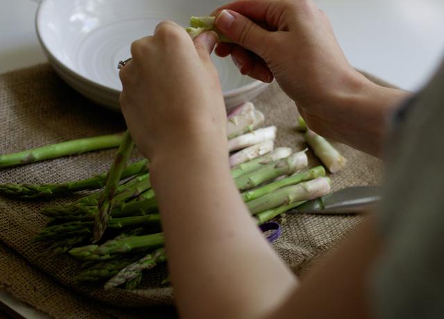 Asparagus-tips