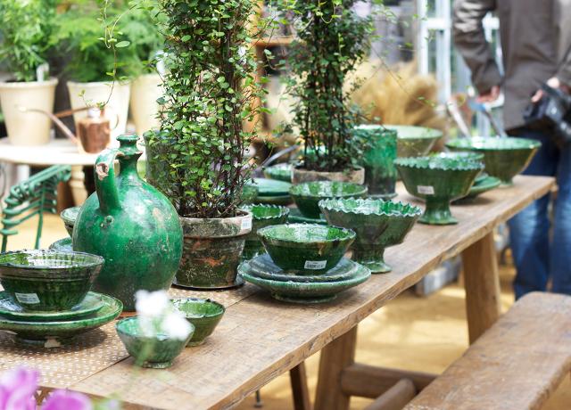 Green-earthenware