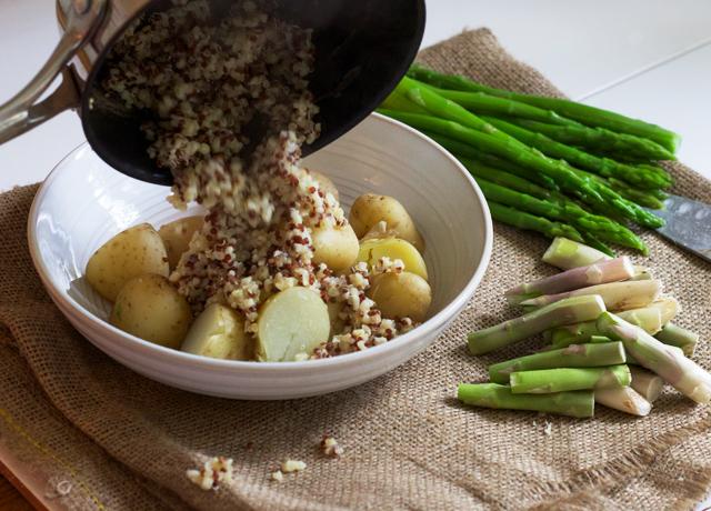 Quinoa+tabbouleh