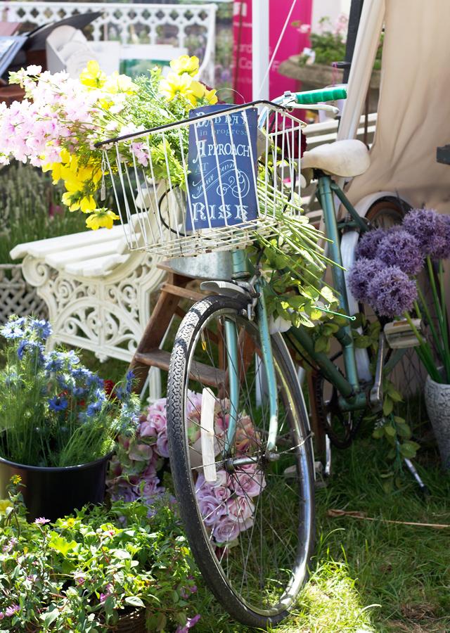 Floral-bicycle