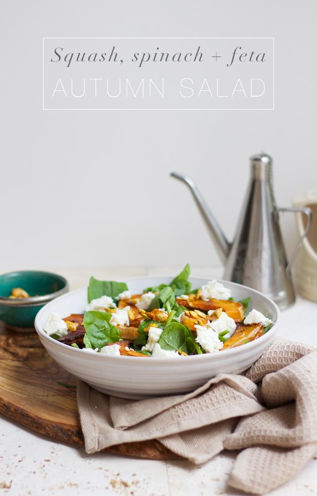 Autumn-salad-butternut-squash-spinach-feta
