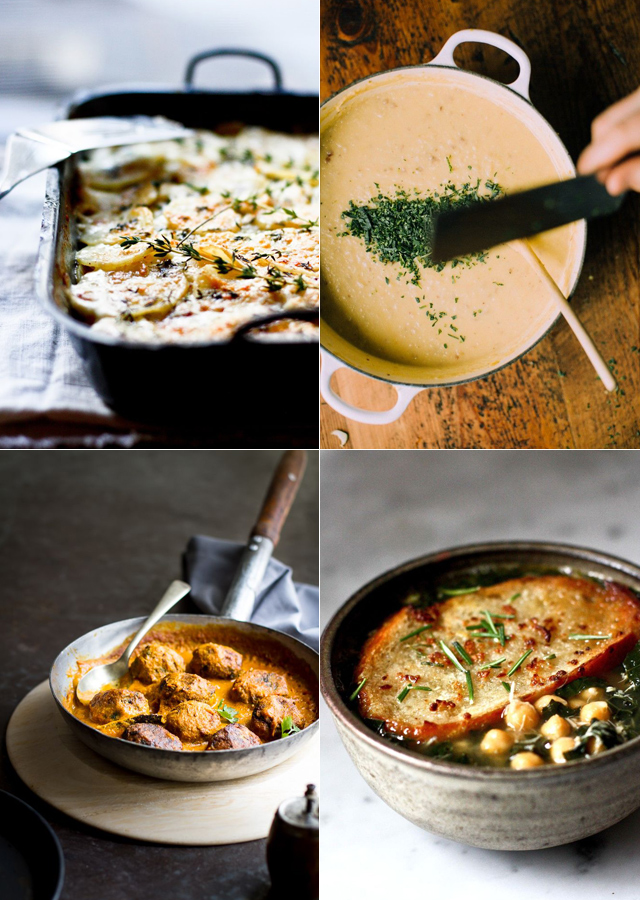 Four-vegetable-dishes