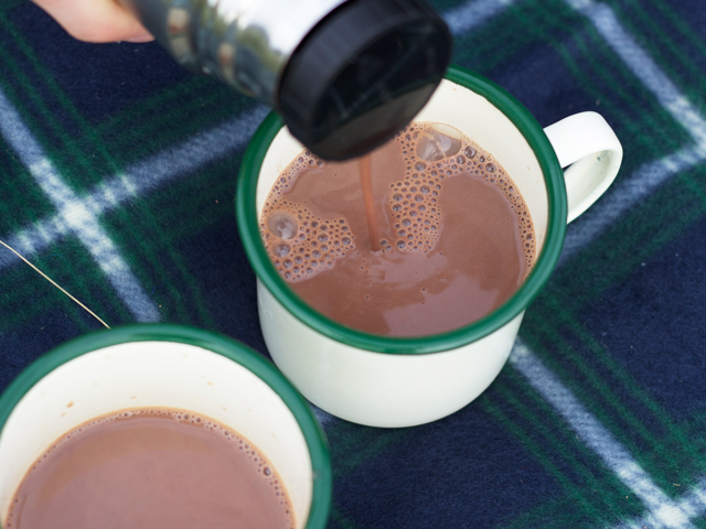Hot-chocolate-from-thermos