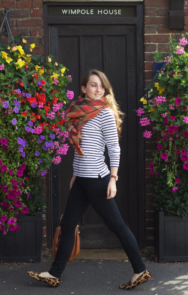 Zara-tartan-scarf-Hobbs-leopard-print-flats