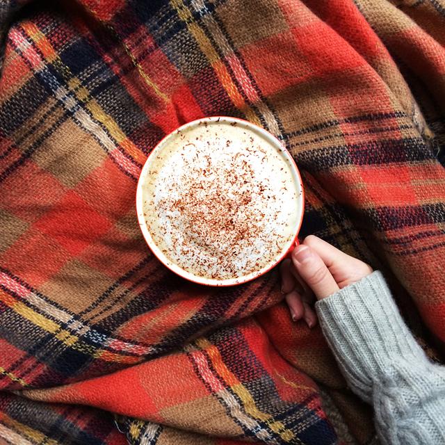 Cappuccino+tartan