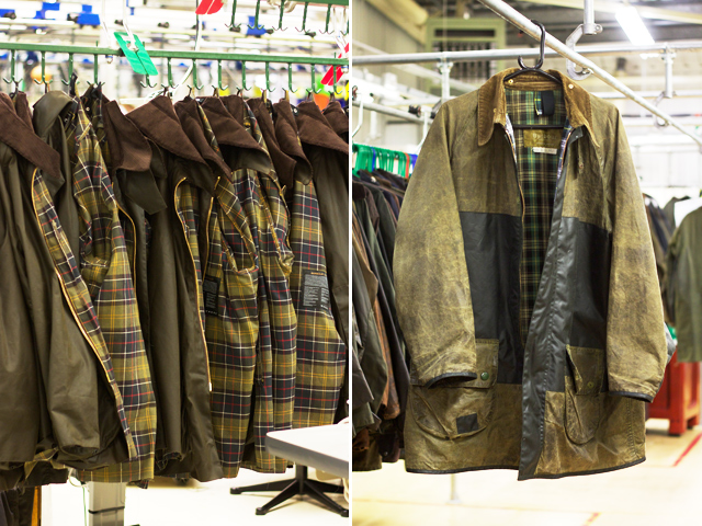 New-and-vintage-Barbour-jackets