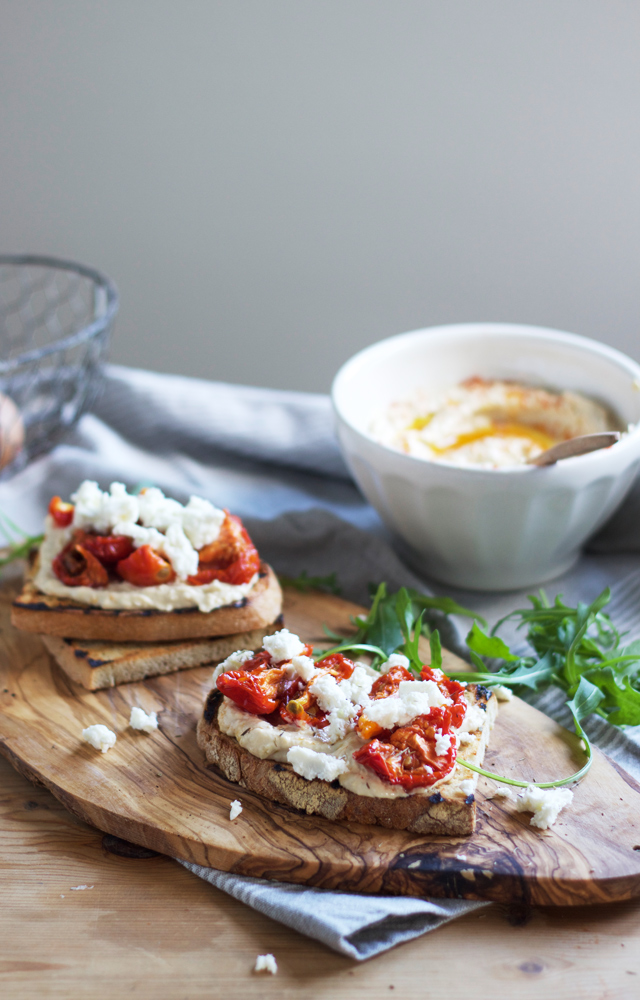 Cider-with-Rosie-Three-Ways-with-Hummus-Tomato-feta-toasts