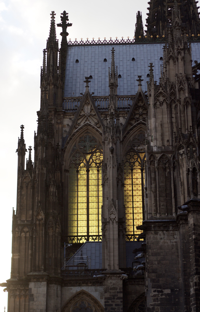 Cologne-cathedral-sunset